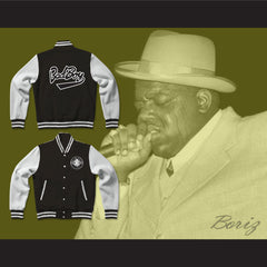 Bad Boy Entertainment Black Varsity Letterman Jacket-Style Sweatshirt - borizcustom - 3