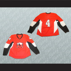 Bahrain National Team Hockey Jersey Any Player or Number - borizcustom