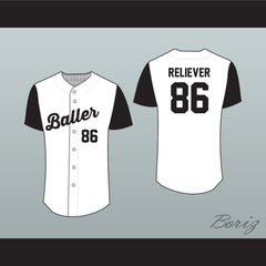 Baller Baseball Jersey Stitch Sewn Any Player or Number New - borizcustom