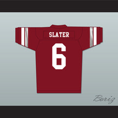 AC Slater 6 Bayside Tigers High School Football Jersey Includes Tiger Patch - borizcustom