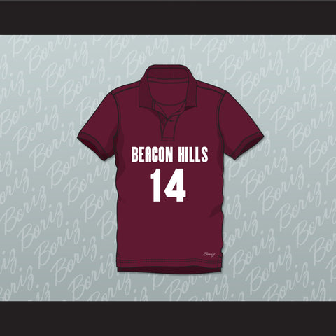 Isaac Lahey 14 Beacon Hills Cyclones Polo Shirt Teen Wolf - borizcustom