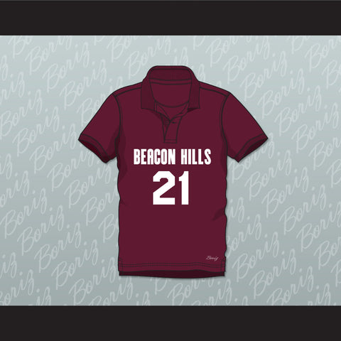 Greenberg 21 Beacon Hills Cyclones Polo Shirt Teen Wolf - borizcustom - 1