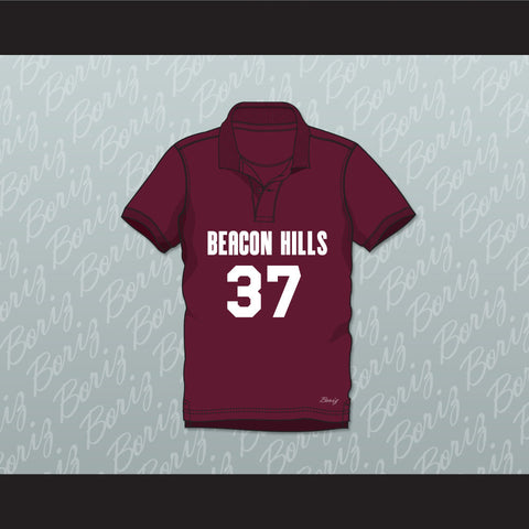 Jackson Whittemore 37 Beacon Hills Cyclones Polo Shirt Teen Wolf - borizcustom