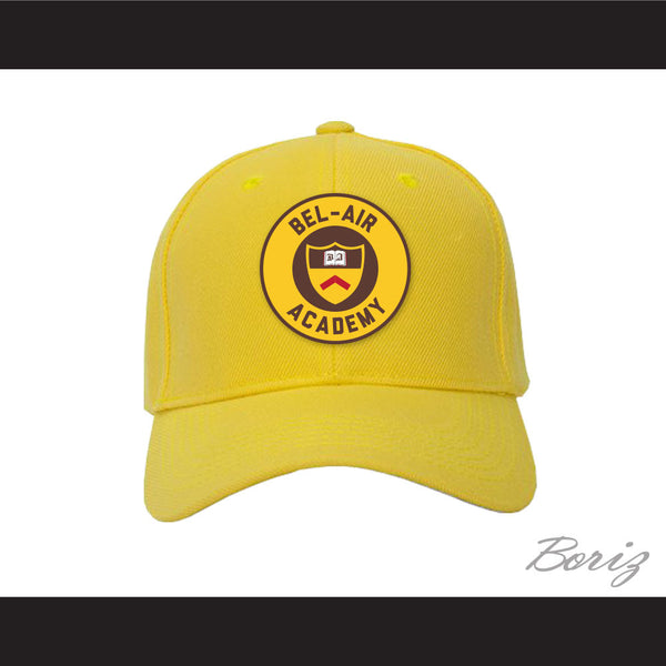 Bel-Air Academy Crest Baseball Hat The Fresh Prince of Bel-Air - borizcustom