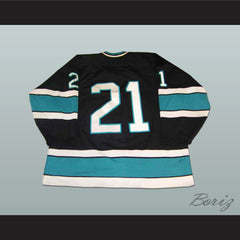 Bellingham Ice Hawks Hockey Jersey Any Player or Number - borizcustom