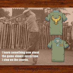 "Ben Hogan ""The Hawk"" Golf Polo Shirt by Morrissey&Macallan - borizcustom"