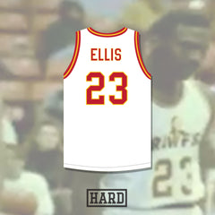 Bentley Ellis 23 New Orleans Crawfish Basketball Jersey by Hard
