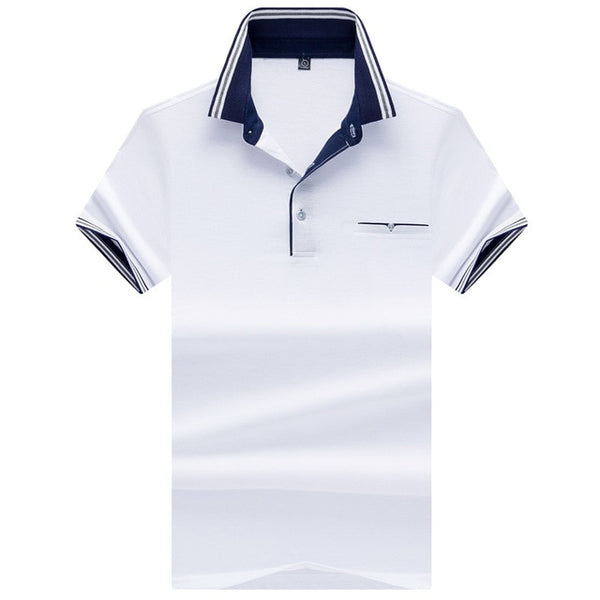 Best selling France brand eden park 2019 Summer Man Polo Shirts Cotton  Short Sleeve Polos Trendy shirt for men Big size YP7176