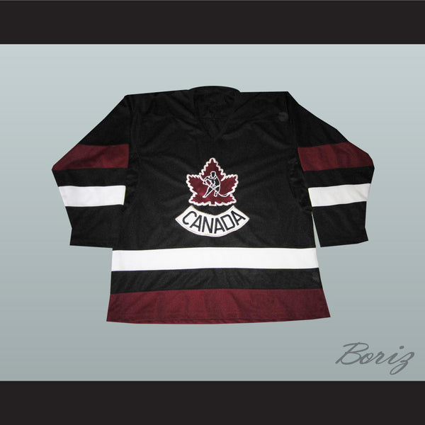 promo code 2e28a 74d6a Mario Lemieux Canada Hockey Jersey New Stitch Sewn