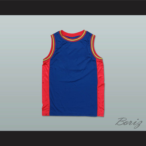 91afc4e2f02 Product Image Plain Basketball Jersey Blue-Red-Yellow - borizcustom - 1 ...