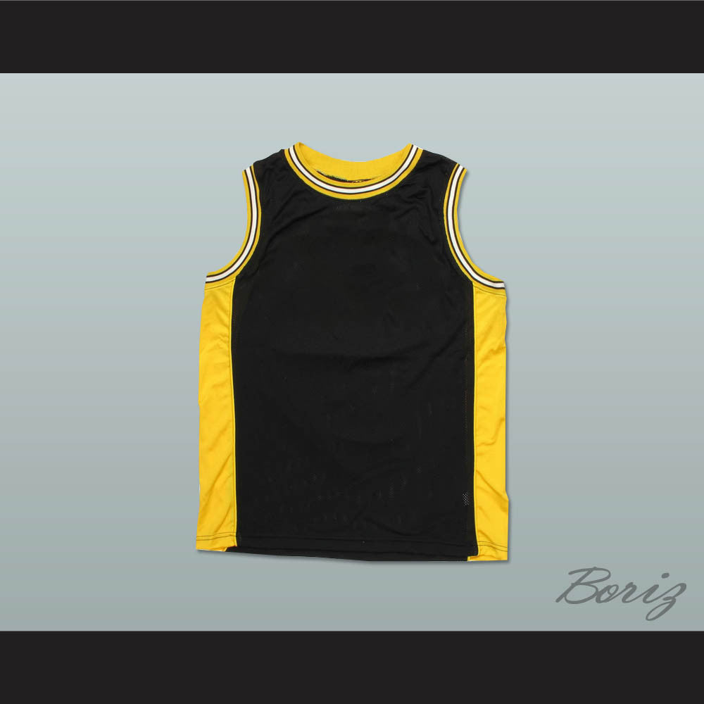 yellow basketball jersey