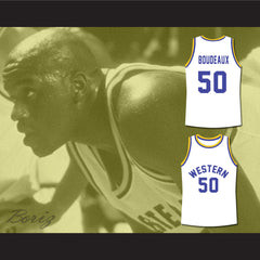 Shaq Neon Boudeaux Western University Basketball Jersey Blue Chips Movie - borizcustom - 3