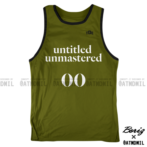 untitled unmastered Basketball Jersey