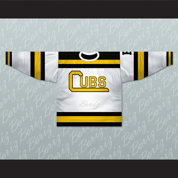 Boston Cubs Hockey Jersey Stitch Sewn New Any Number or Player - borizcustom