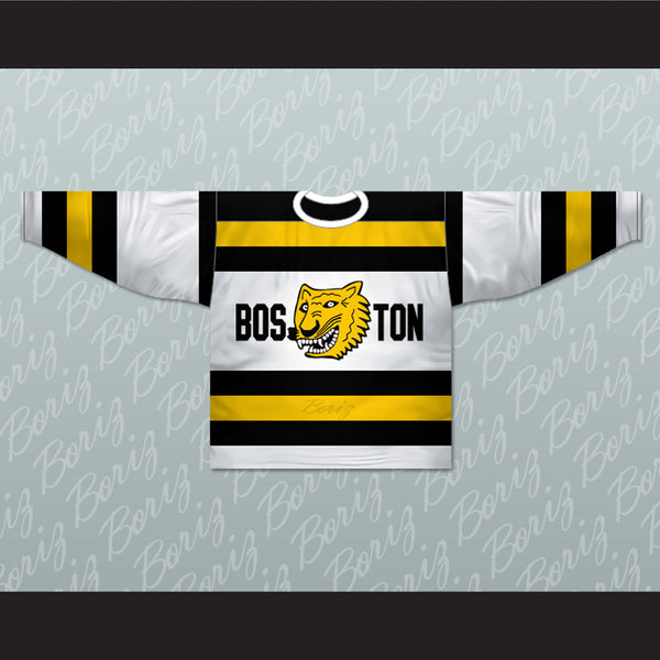 Boston Tigers 1929-31 C-AHL Hockey Jersey Stitch Sewn New Any Number or Player - borizcustom