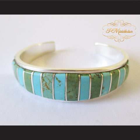P Middleton Bohemian Style Bangle Sterling Silver 92.5% with Semi-Precious Stones 28.5 grams - borizcustom