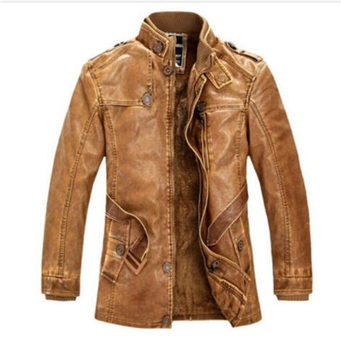 New Mens Biker Genuine Sheep Leather Slim Fit Bomber Party Jacket A352