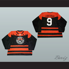 Brett Corcoran Trail Smoke Eaters Hockey Jersey NEW Stitch Sewn - borizcustom