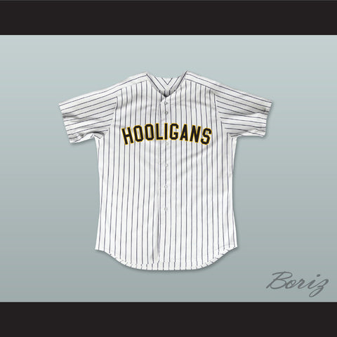 Bruno Mars 24K Hooligans White Pinstriped Baseball Jersey BET Awards