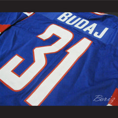 Peter Budaj Slovakia Hockey Jersey Stitch Sewn New Any Size - borizcustom - 3