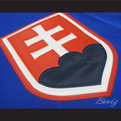 Peter Budaj Slovakia Hockey Jersey Stitch Sewn New Any Size - borizcustom - 4