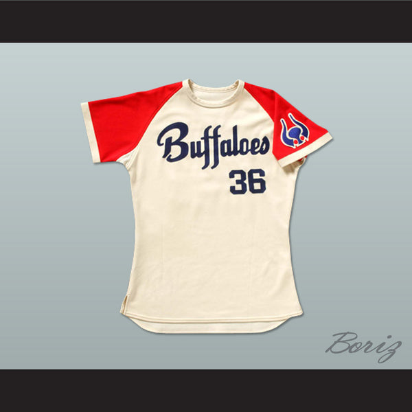 Buffaloes Yoshii 36 Japan Baseball Jersey Any Name or Number New - borizcustom