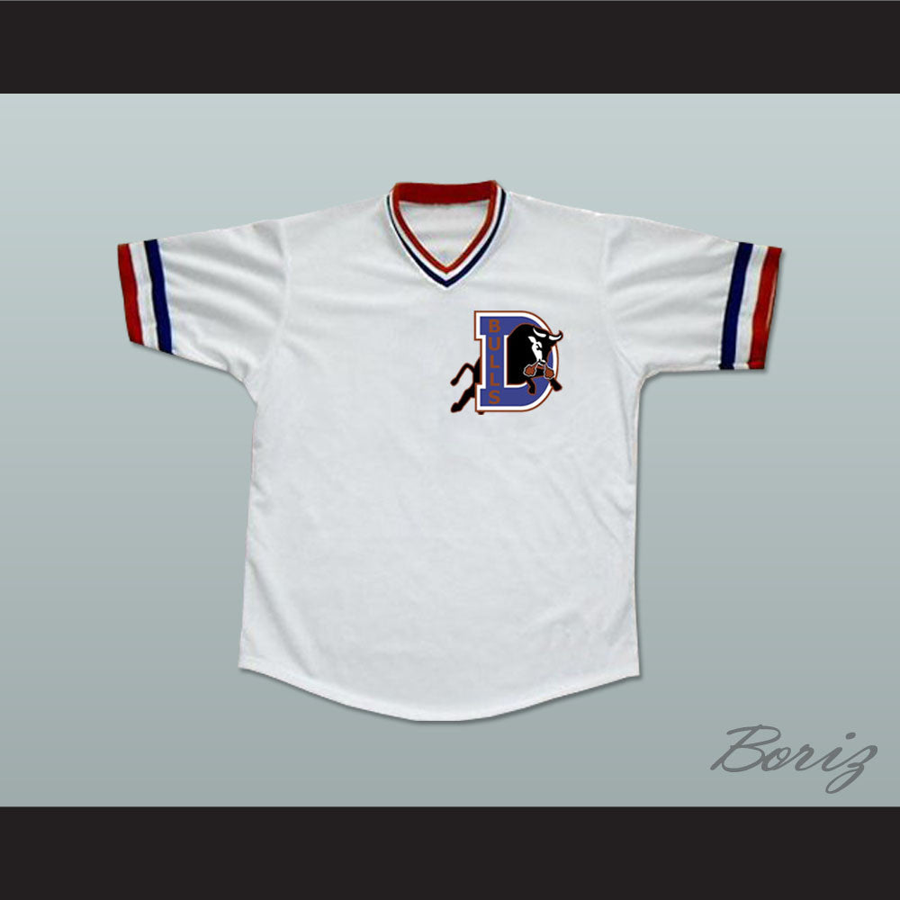 huge discount 90f56 68e51 Crash Davis Bull Durham Baseball Jersey Stitch Sewn New
