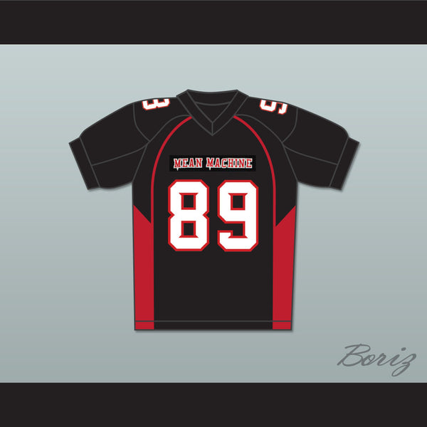 Terry Crews 89 Cheeseburger Eddy Mean Machine Convicts Football Jersey - borizcustom