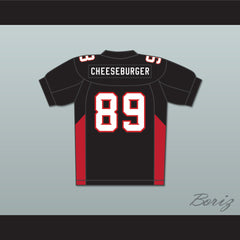 Terry Crews 89 Cheeseburger Eddy Mean Machine Convicts Football Jersey - borizcustom - 2
