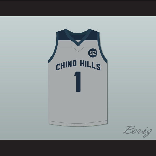 LaMelo Ball 1 Chino Hills Huskies Gray Basketball Jersey 3a1322f49