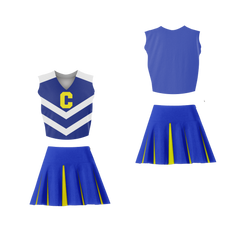 Krista Wilson Centennial High School Cheerleader Uniform Stand Against Colors  Fear