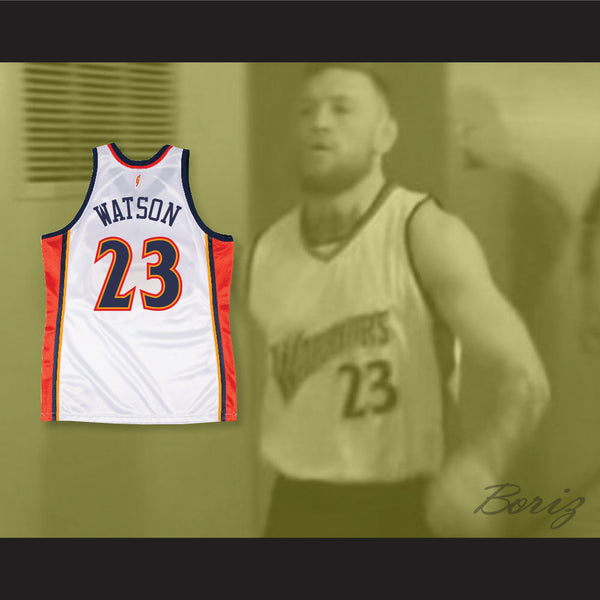 timeless design 32a04 92af1 Conor McGregor Trolls Floyd Mayweather Jr with C.J. Watson 23 Basketball  Jersey