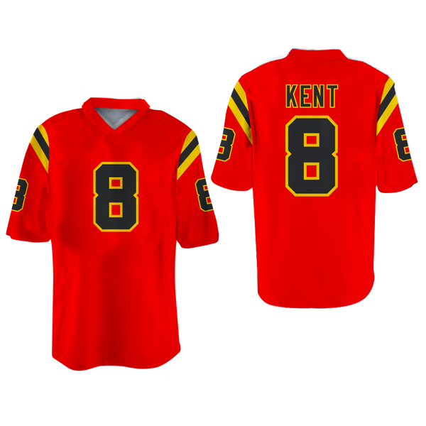 borizcustoms Kent Football Jersey Stitch Sewn