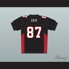 87 Cote Mean Machine Convicts Football Jersey - borizcustom