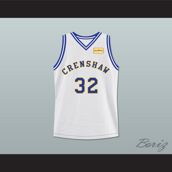 Product Image Monica Wright 32 Crenshaw High School Basketball Jersey with  Love and Basketball Patch - borizcustom ... 503320282