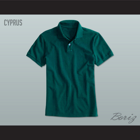 Men's Solid Color Cyprus Polo Shirt - borizcustom