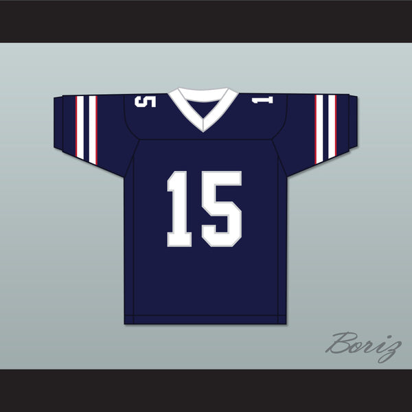 timeless design a36e6 48f21 Jeff East Bryce Smith 15 California Bulls Football Jersey 1st & Ten