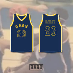 Calvin Bailey 23 Gary Chinooks Basketball Jersey by Hard