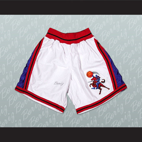 Lil' Bow Wow Calvin Cambridge 3 Los Angeles Knights Basketball Shorts Like Mike - borizcustom