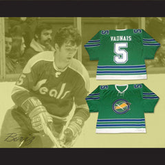 Carol Vadnais 5 California Golden Seals Hockey Jersey Stitch Sewn New - borizcustom