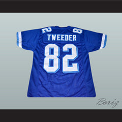 Charlie Tweeder 82 Football Jersey Varsity Blues Movie Reference Stitch Sewn New - borizcustom