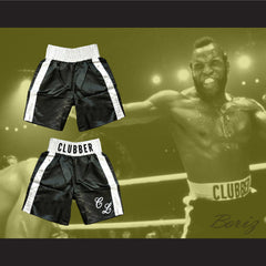 Mr T Clubber Lang Rocky Movie Boxing Shorts All Sizes - borizcustom