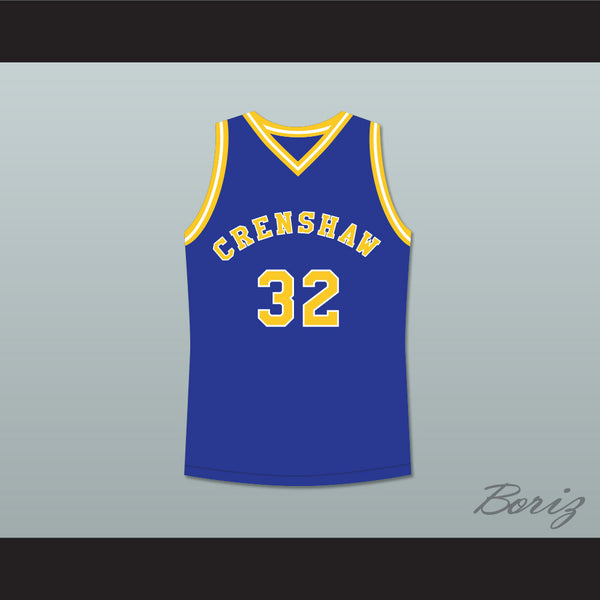 Product Image Monica Wright 32 Crenshaw High School Blue Basketball Jersey  Love and Basketball - borizcustom ... 06a087323b