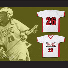 Crooked Arrows Tyler Hill Silverfoot Lacrosse Jersey - borizcustom