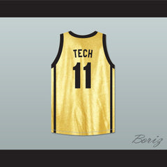 Anthony Mackie Tech 11 Enemy Of The State Basketball Jersey Crossover - borizcustom