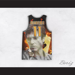 Scarface 11 Cuban Refugee Basketball Jersey Design 3