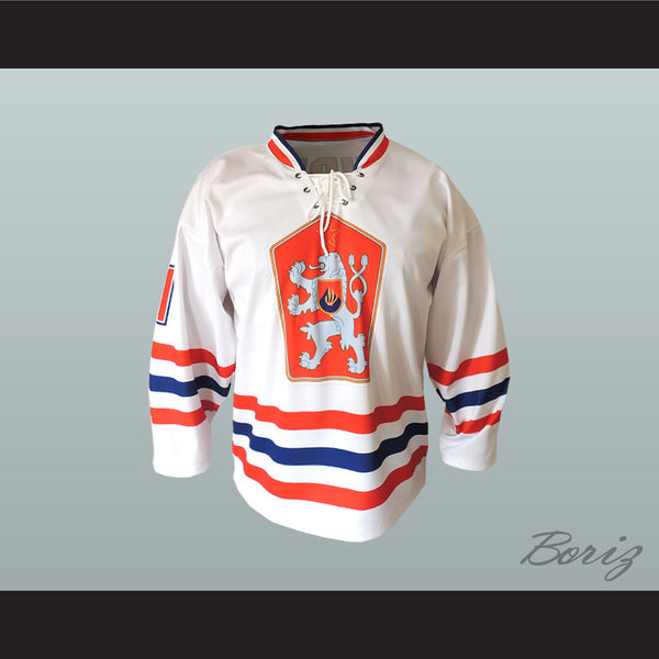 Czechoslovakia National Team Hockey Jersey Any Player or Number New - borizcustom