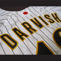 Pitcher Yu Darvish Japanese Baseball Jersey 18 Stitch Sewn New Any Size - borizcustom - 6