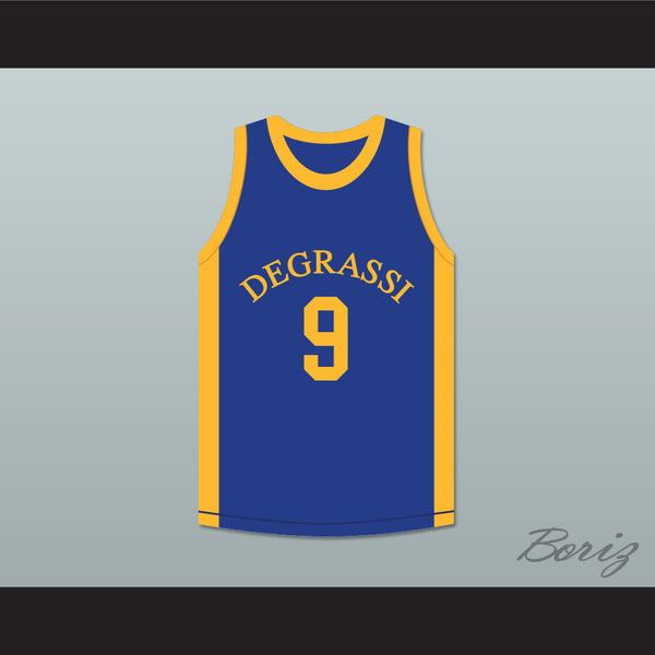 508da2f2cc7e Drake Jimmy Brooks 9 Degrassi Community School Panthers Basketball Jersey