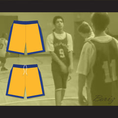 Degrassi Community School Panthers Away Basketball Shorts - borizcustom